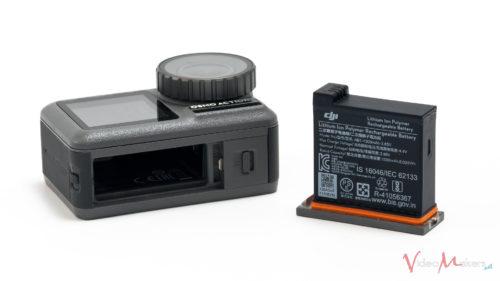 DJI OSMO Action - Dettaglio Slot Batteria