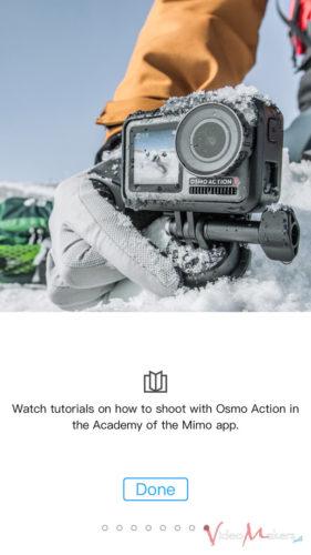 DJI OSMO Action - DJI Mimo