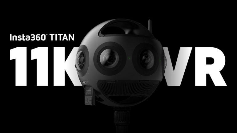 TITAN è qui: al via le spedizioni della nuova camera VR Insta360 11K