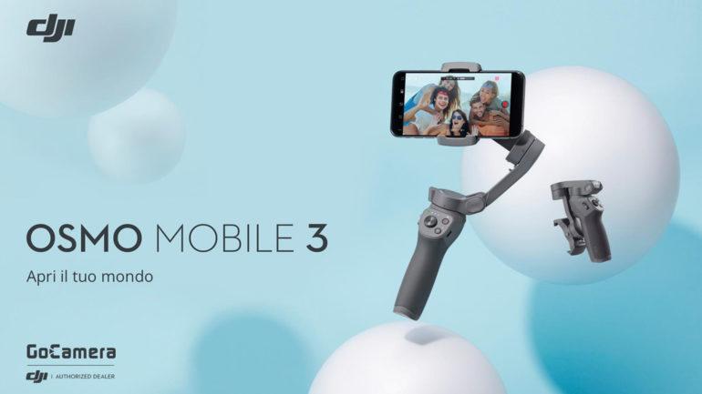DJI OSMO Mobile 3: il gimbal per smartphone compatto e connesso