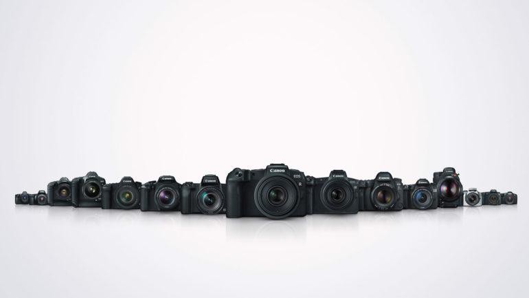 Canon celebra la produzione di 100 milioni di fotocamere EOS