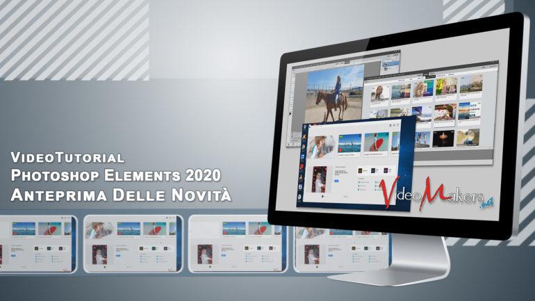 Photoshop Elements 2020 – Anteprima Delle Novità