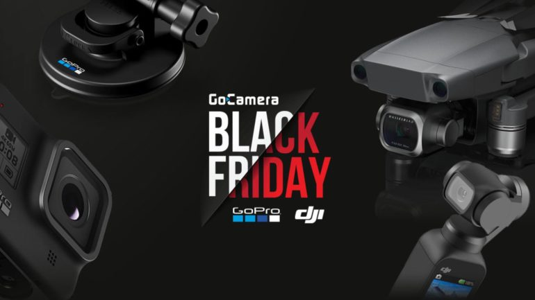 Il Black Friday GoPro e DJI è in arrivo in Italia