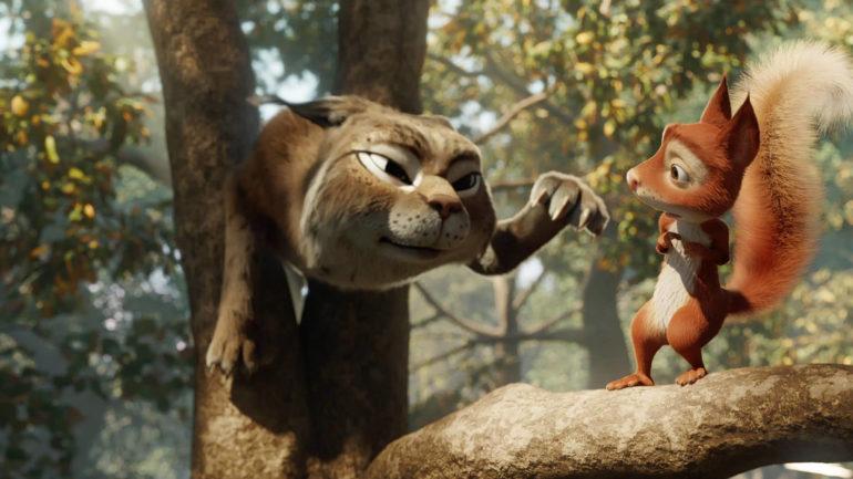"""Fusion Studio usata per creare il film d'animazione """"Latte e la pietra magica"""""""