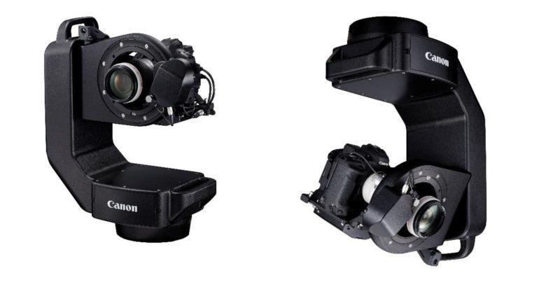 Canon CR-S700R: Sistema robotizzato per funzionamento remoto fotocamere EOS