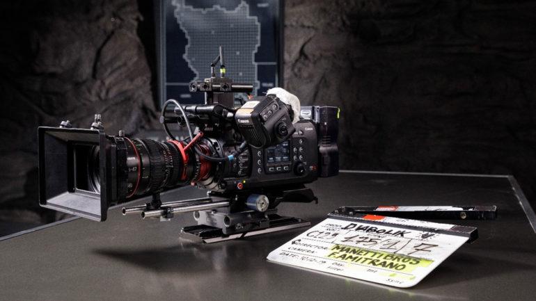 Canon sul Set Cinematografico di DIABOLIK