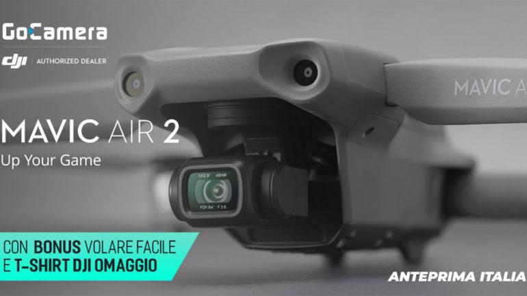 DJI Mavic Air 2: su GoCamera con bonus lancio