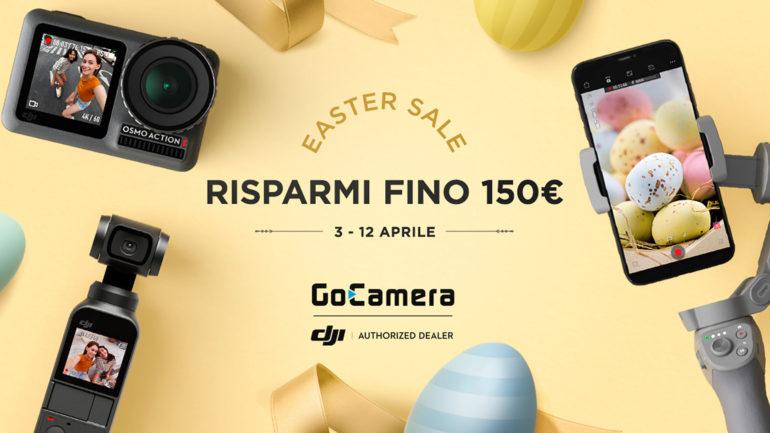 GoCamera: Partono le Offerte DJI di Pasqua e altre iniziative
