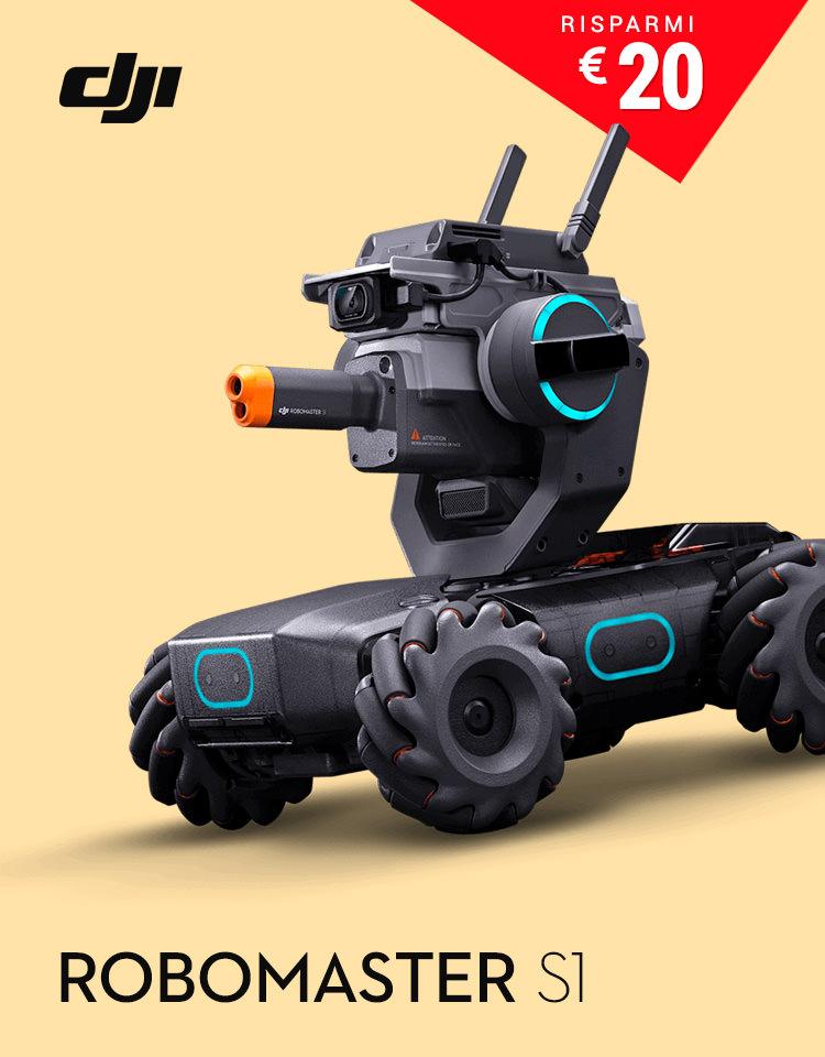 GoCamera - DJI Easter Sale - Osmo Robomaster S1