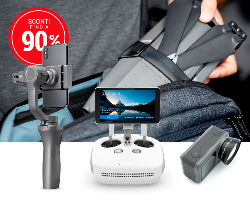 GoCamera - DJI Easter Sale - Outlet Accessori