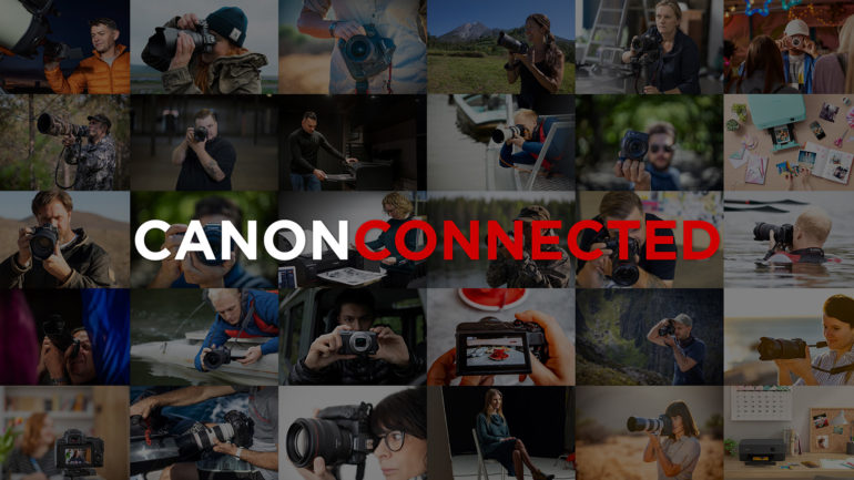 Canon lancia Canon Connected: hub gratuito di contenuti video
