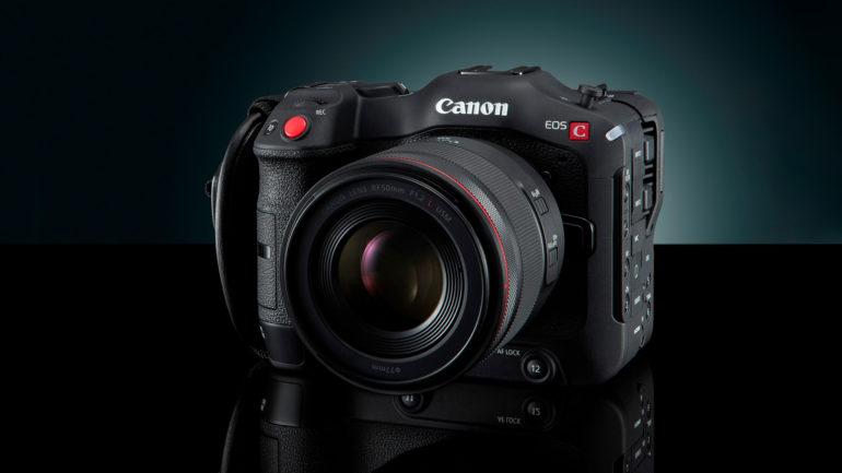 Novità CANON: EOS C70 e adattatore EF-EOS R 0.71x