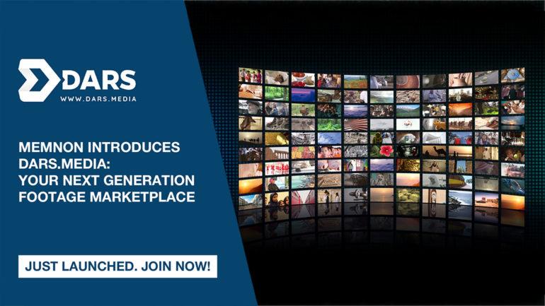 Memnon, una società Sony, presenta DARS.MEDIA