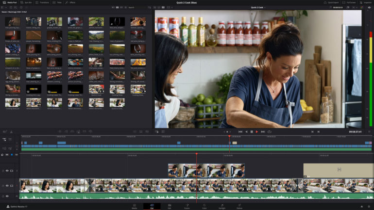 Blackmagic Design annuncia DaVinci Resolve 17