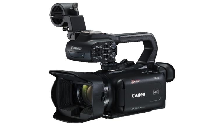 Canon XA45: videocamera 4K compatta con funzionalità di registrazione professionali