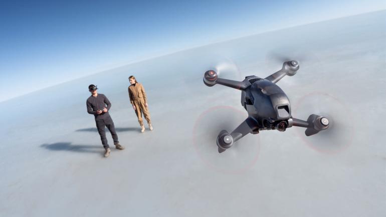 Il nuovo drone DJI FPV