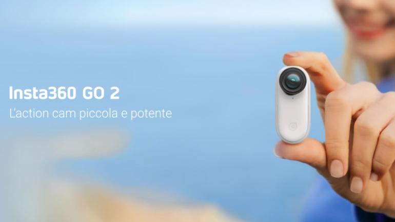 Insta360 GO 2: la action cam invisibile
