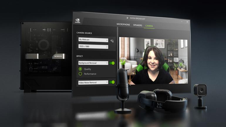 NVIDIA Broadcast: disponibile ora la versione 1.3